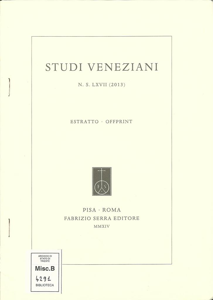 Une Controverse Sur Les Confins, Venise, Muggia Et Les Salines De Trieste